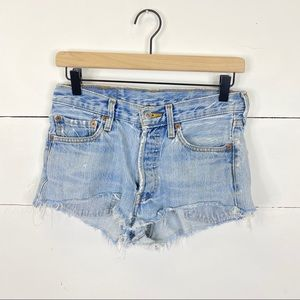 Levi's Vintage 501 Distressed Cut Off Shorts